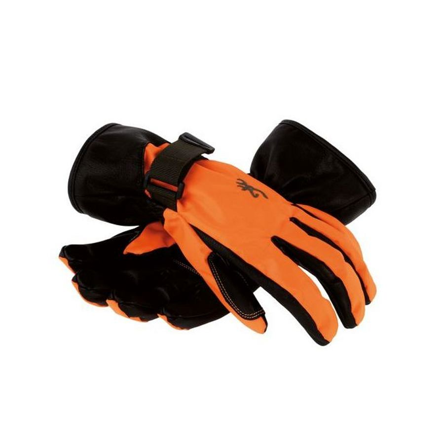 Gant de chasse orange x treme tracker browning temps humide