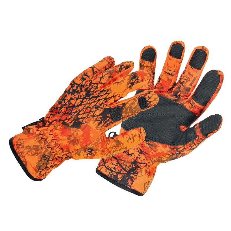 Gant verney carron snake blaze orange camouflage impermeable