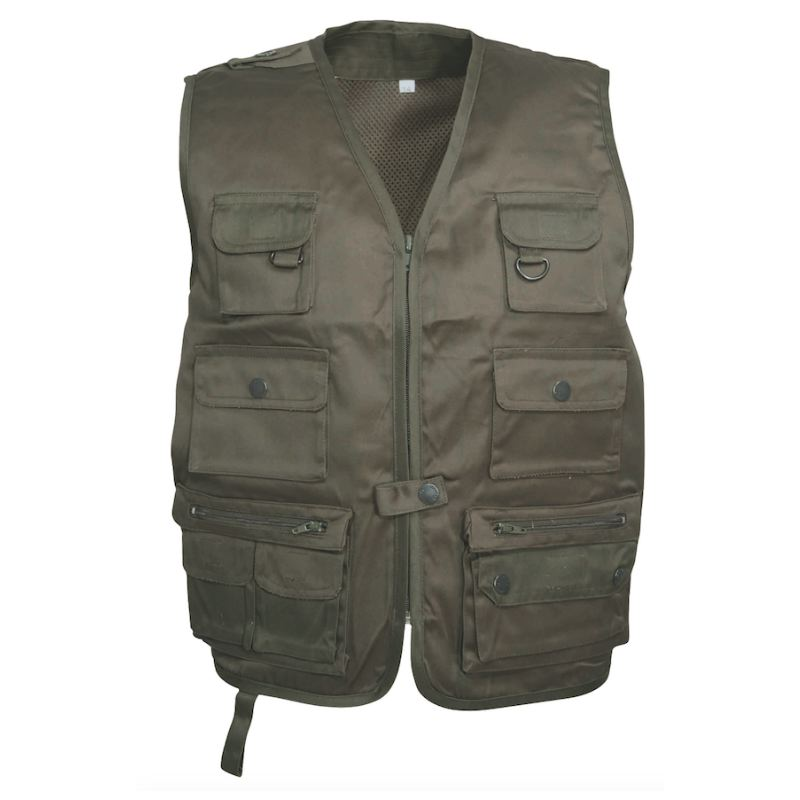 Gilet chasse enfant percussion reporter chasseur compagnie