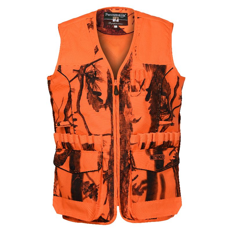 Gilet chasse percussion stronger ghostcamo blaze black 2017