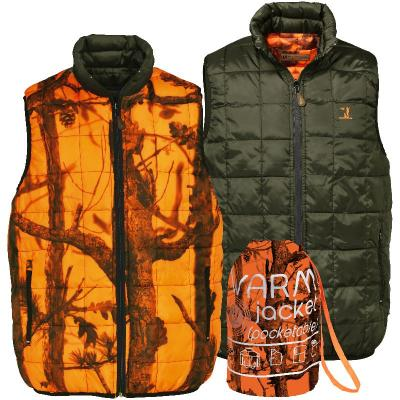 Gilet réversible Percussion Warm