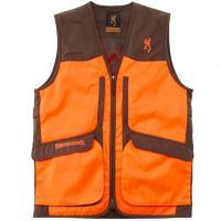 Gilet de chasse upland hunter hi vis 2 browning orange vert