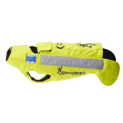 Gilet de protection pour chien browning protect pro evo jaune