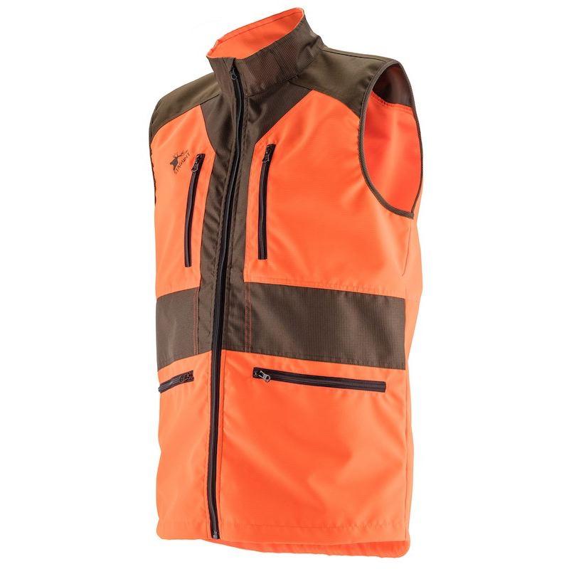 Gilet le ger de chasse stagunt springtrack orange fluo blaze