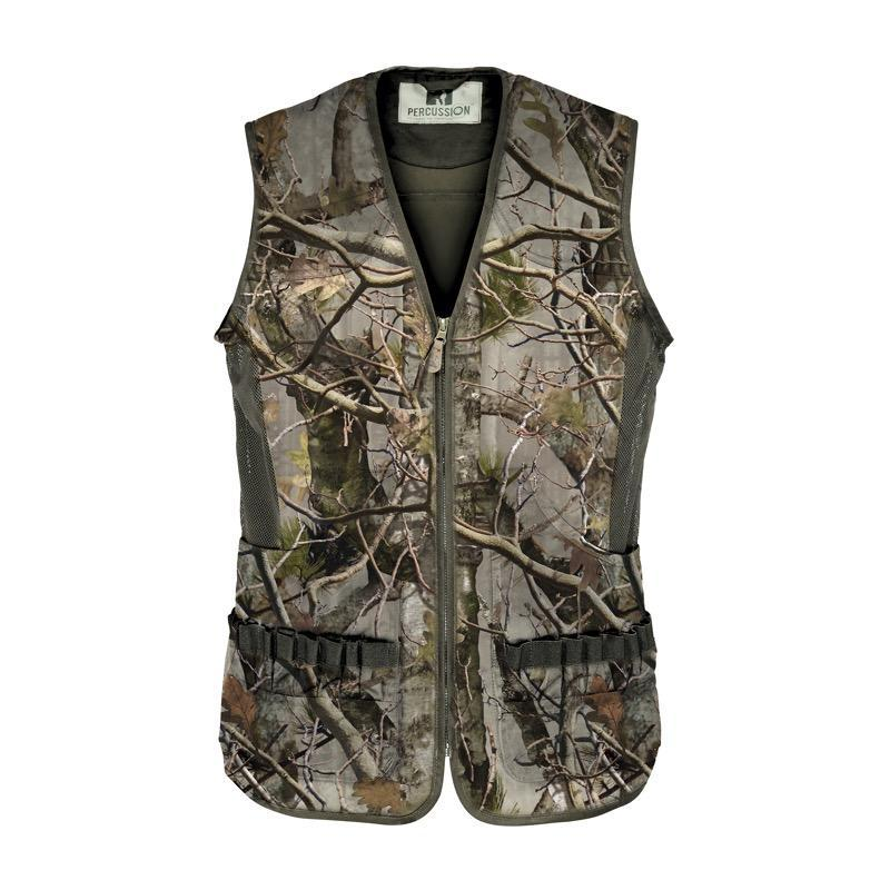 Gilet Percussion Palombe Ghostcamo Forest Evo