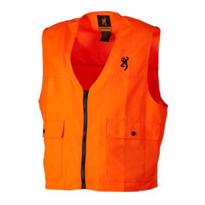 Gilet de sécurité x-trem tracker orange fluo Browning