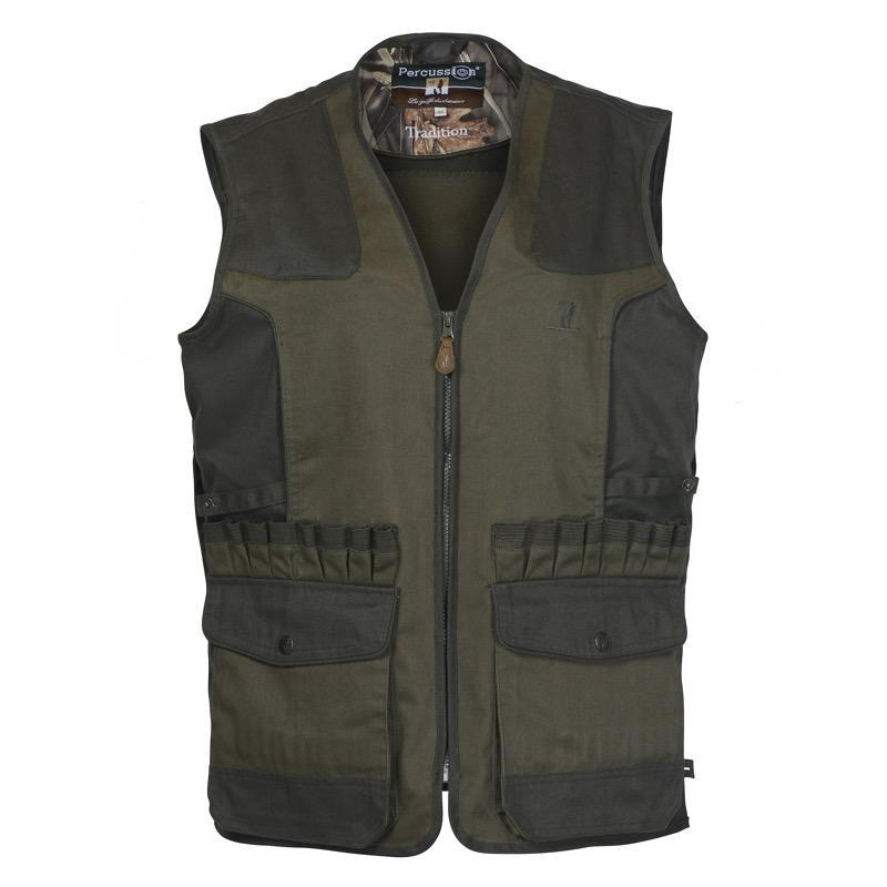 Gilet tradition broderie percussion