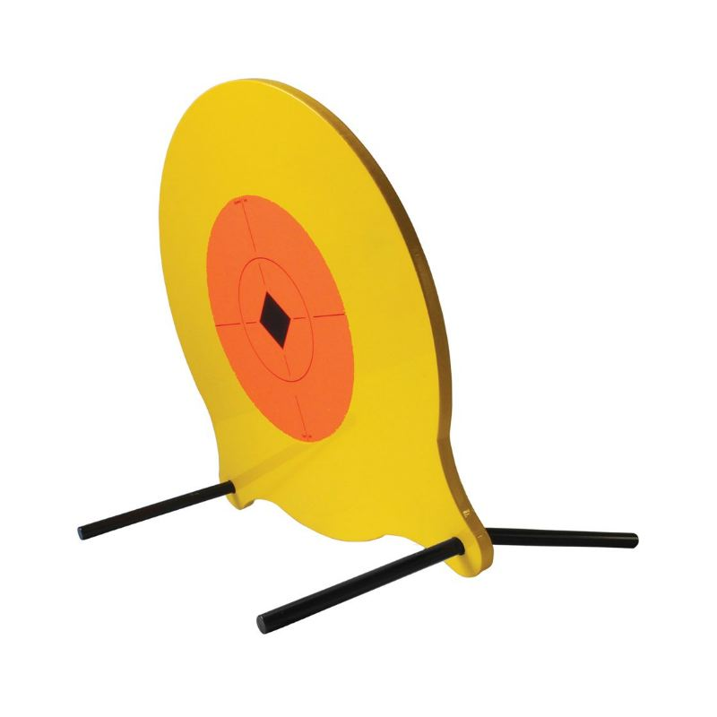 Gong me tallique pendulaire pour le tir sportif arme de poing