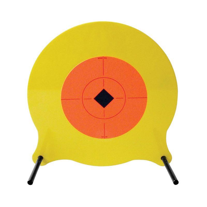 Gong me tallique pendulaire pour le tir sportif arme de poing1