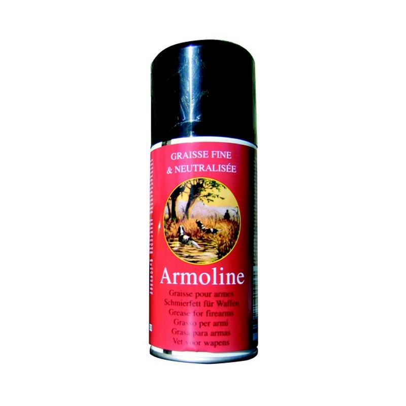 Graisse en bombe pour armes de chasseur armoline armistol