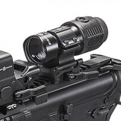 Gros plan magnifier sightmark 3x tactical et 5x tactical