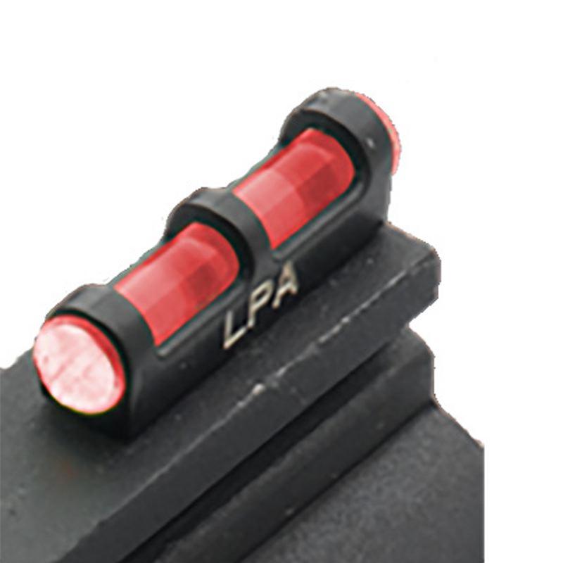 Guidon fibre optic rouge lpa sights sur pas de vis 3 mm