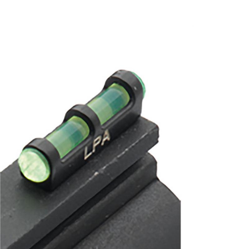 Guidon fibre optic vert lpa sights sur pas de vis 2 6 mm