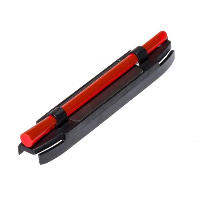 Guidons à fixation rouge magnétique Hiviz