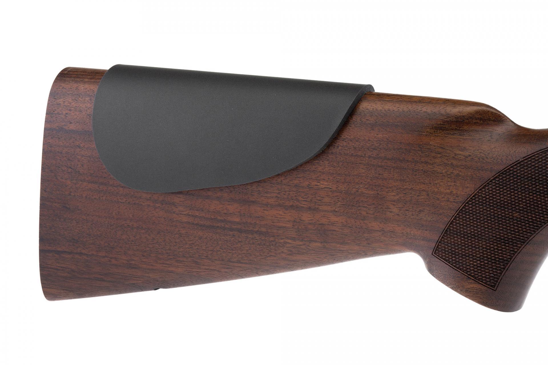 Joue de protection e paisseur 6mm kick eez en sorbothane qui absorbe les chocs de tir au fusil ou carabine