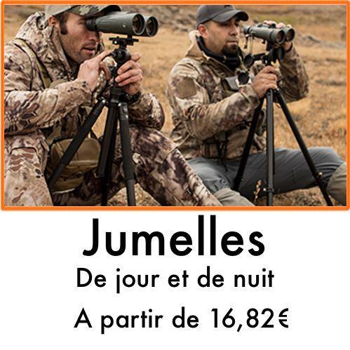 Jumelles de chasse chasseur et compagnie