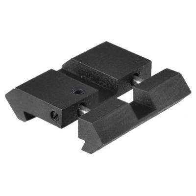 2 X Rail Adaptateur 11 mm vers 21 mm