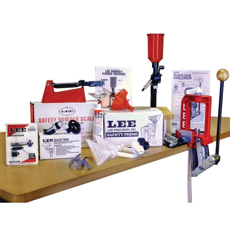 Kit presse de rechargement breech lock challenger lee 90050