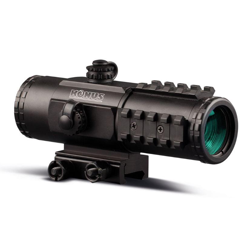 Konus sight pro pts2 3x30 point rouge tubulaire tactique noir
