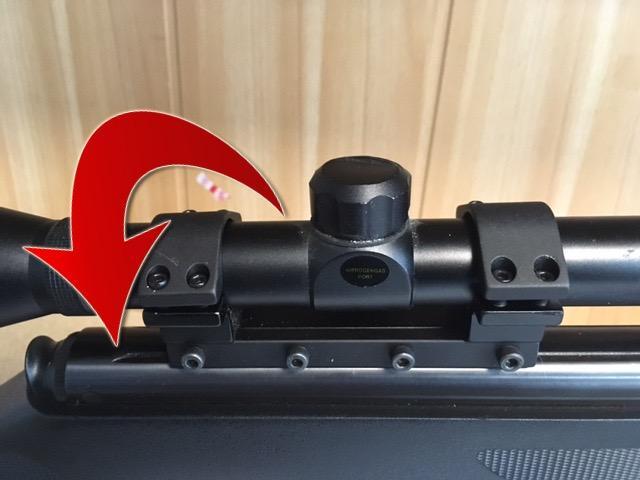 La lunette de tir doit e tre rotative sur les colliers