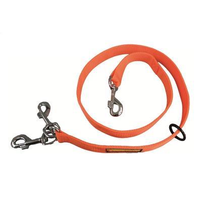 Laisse doubleur browning 1 20 m orange avec logo