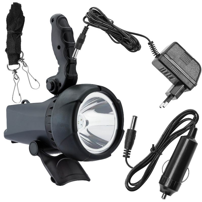 Lampe projecteur a led rechargeable 1 200 000 candelas 10w2
