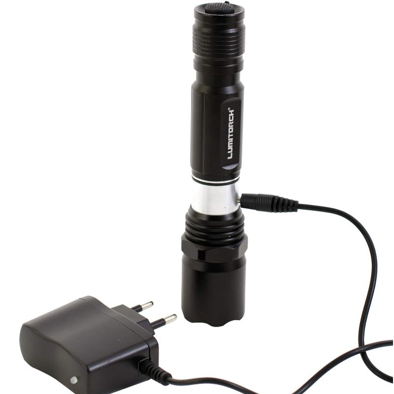 Lampe torche led rechargeable lumitorch 180 lumens 100 metre1