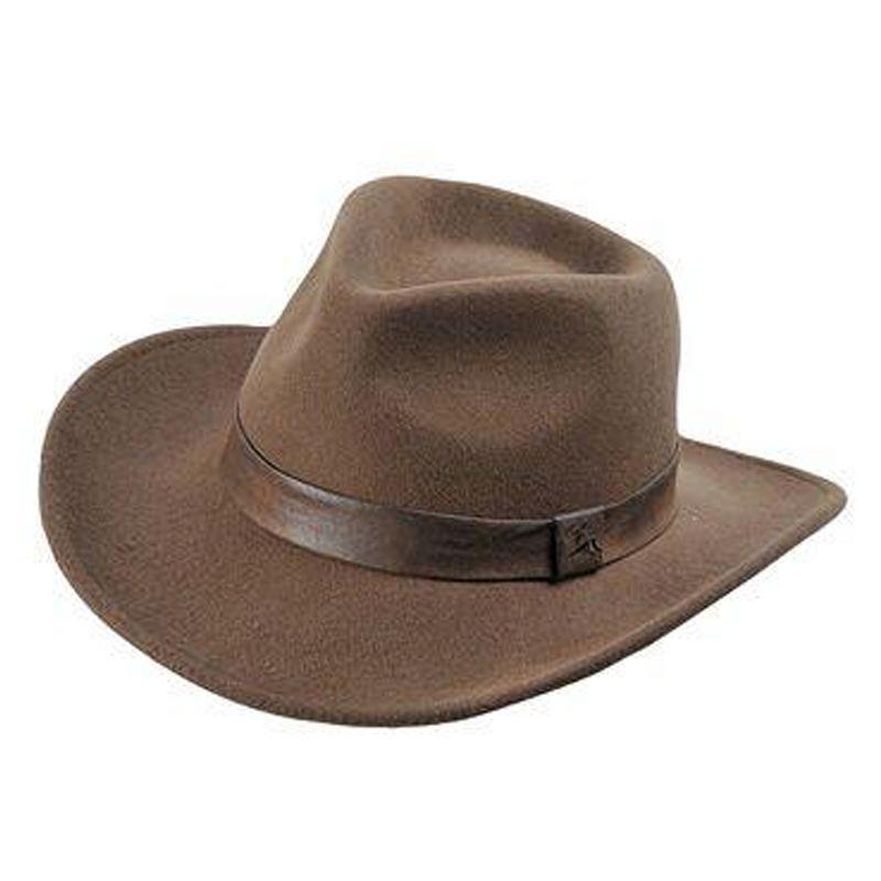 Le chapeau de chasse en feutre woolchap marron verney carron