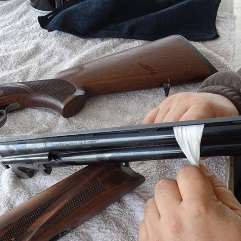 Lingette nettoyante pour arme