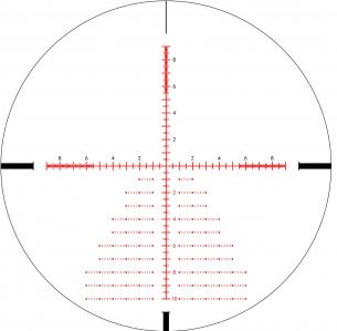 Lr2 reticule en mrad par sightmark