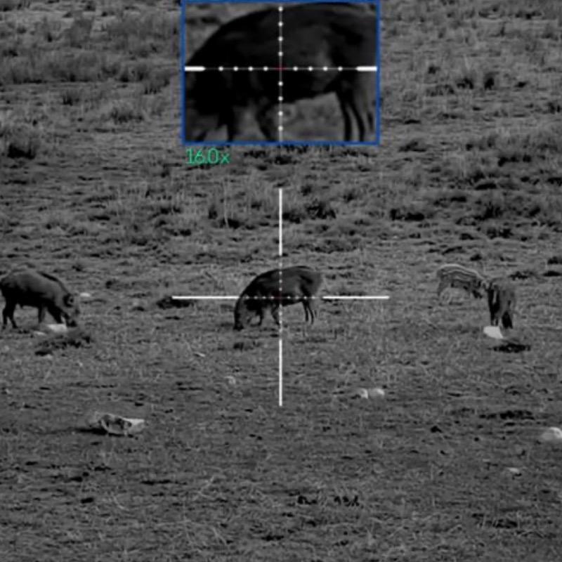 Lunette de tir nocturne yukon sightline n450s jusqu a 400m7