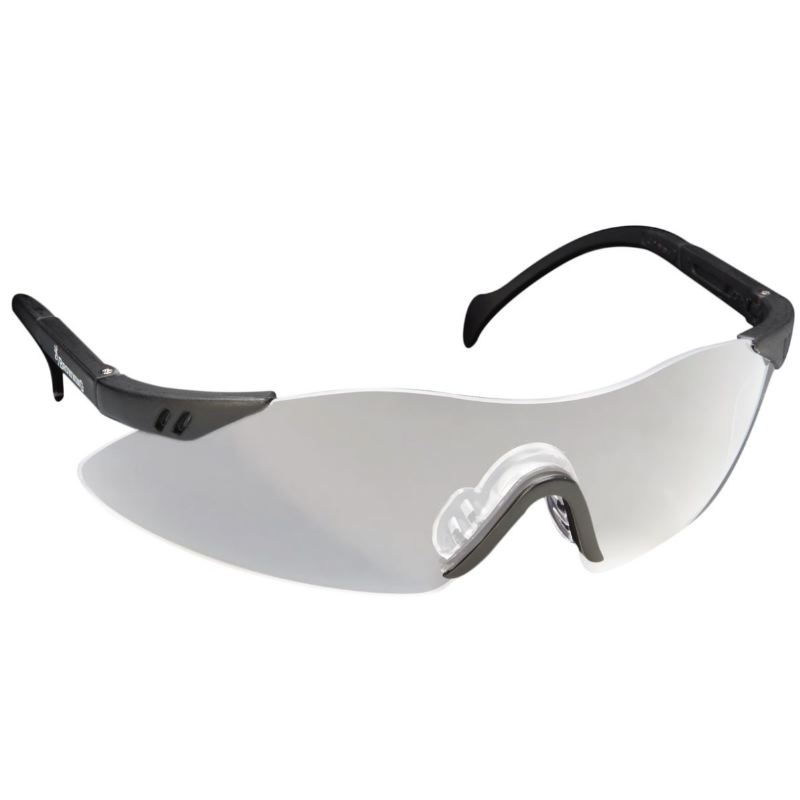 Lunettes anti uv browning claybuster blanc pour tir sportif