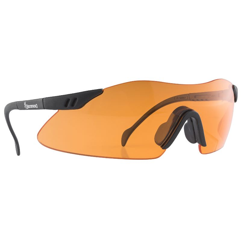 Lunettes browning claybuster verre orange pour tir sportif