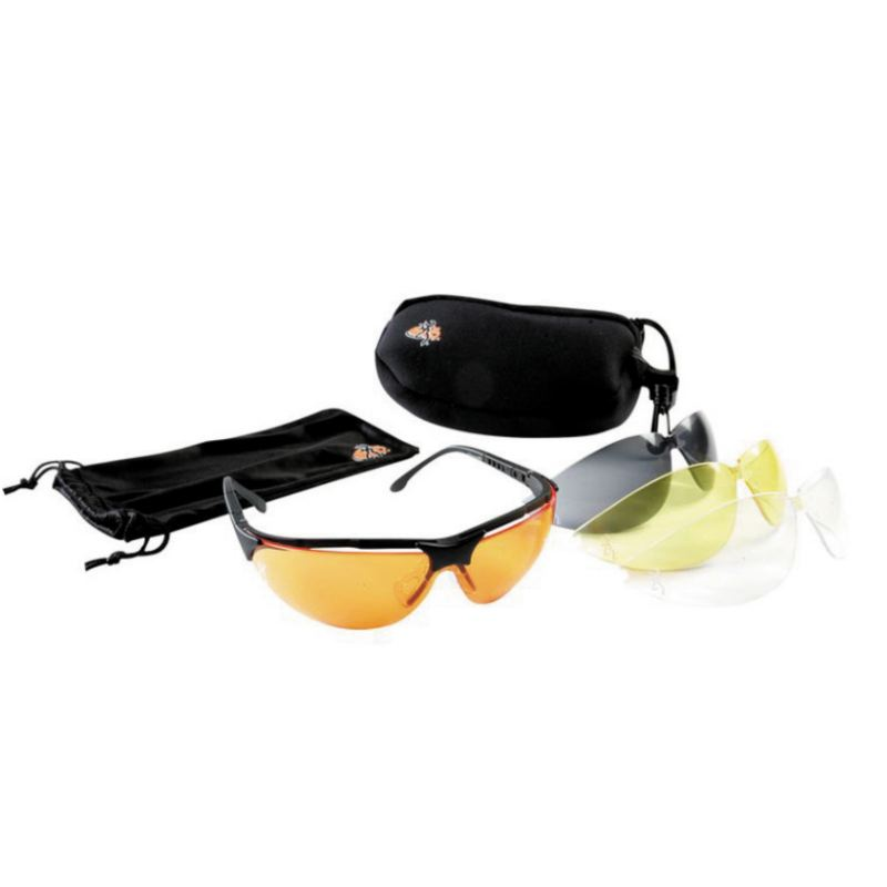 Lunettes de protection clay master browning pour tir sportif