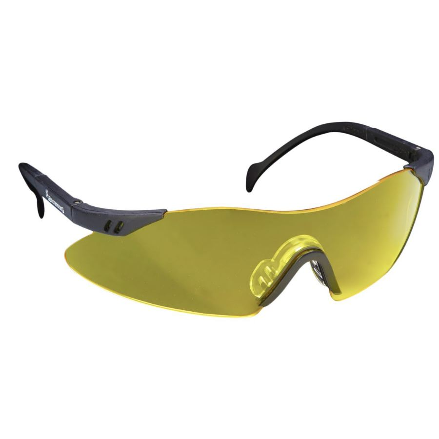 Lunettes de protection jaune claybuster browning tir sportif