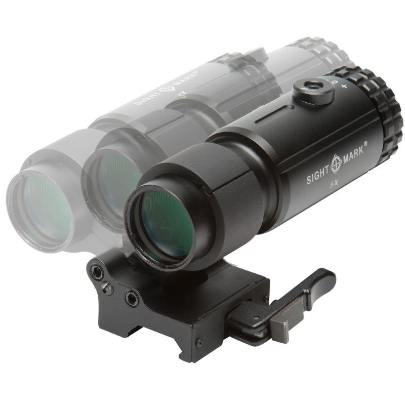 Magnifier x5 pour point rouge sightmark t5 nouveau pas cher6