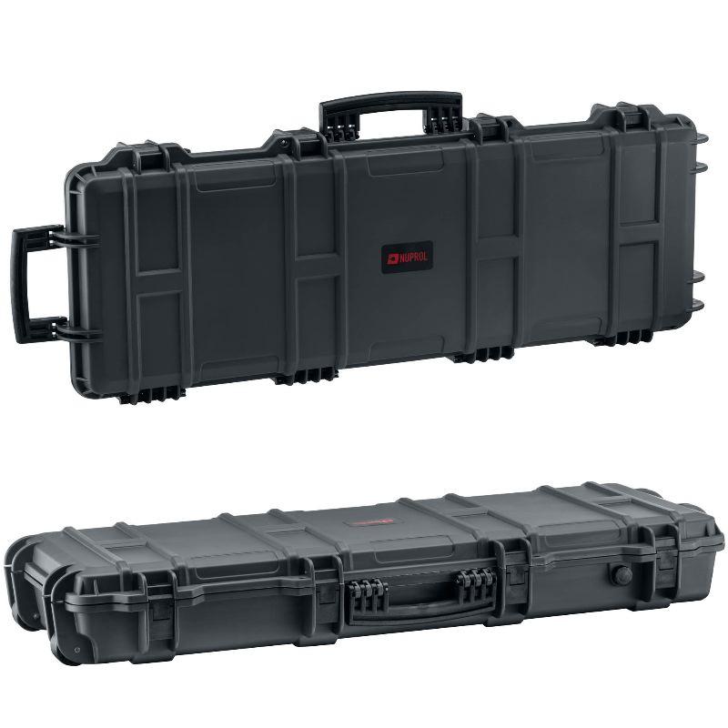 Mallette arme waterproof 103x33x15 avec mousse grise1