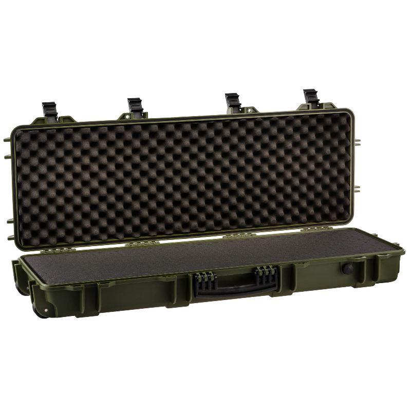 Mallette kaki waterproof arme 103x33x15 mousse pre de coupe e
