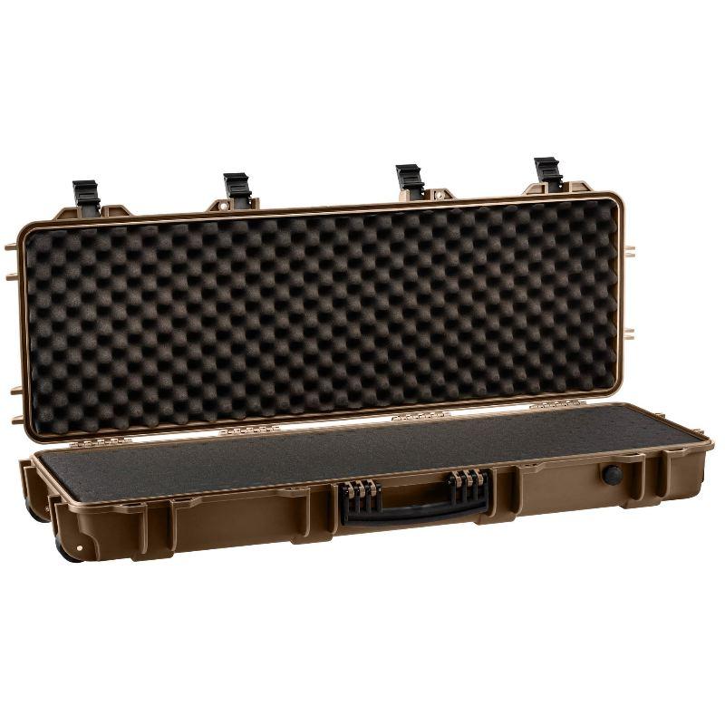 Mallette tan waterproof arme 103x33x15 mousse pre de coupe e