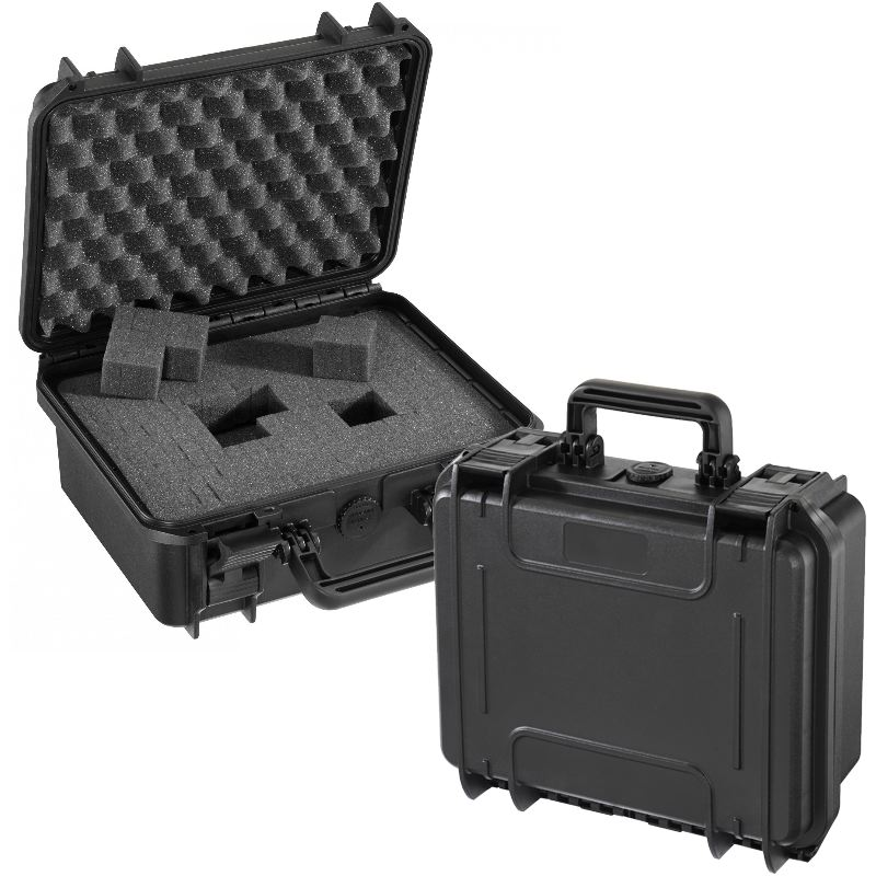 Mallette waterproof ip67 30 x23 x 13 norme stanag std 81 6 41