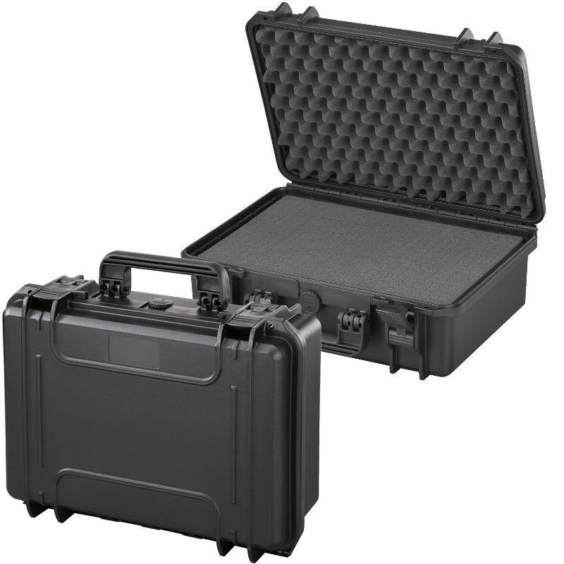 Mallette waterproof ip67 43 x 29 x 16 norme stanag std 81 6 41