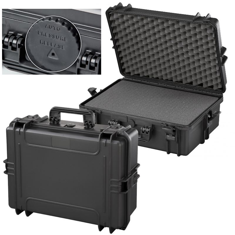 Mallette waterproof ip67 50 x35 x19 norme stanag std 81 6 41