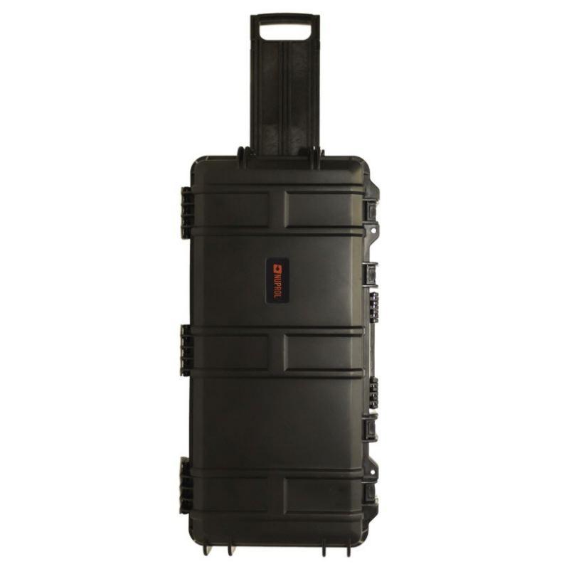 Mallette waterproof pour arme 75 x 33 x 13 cm avec roullette