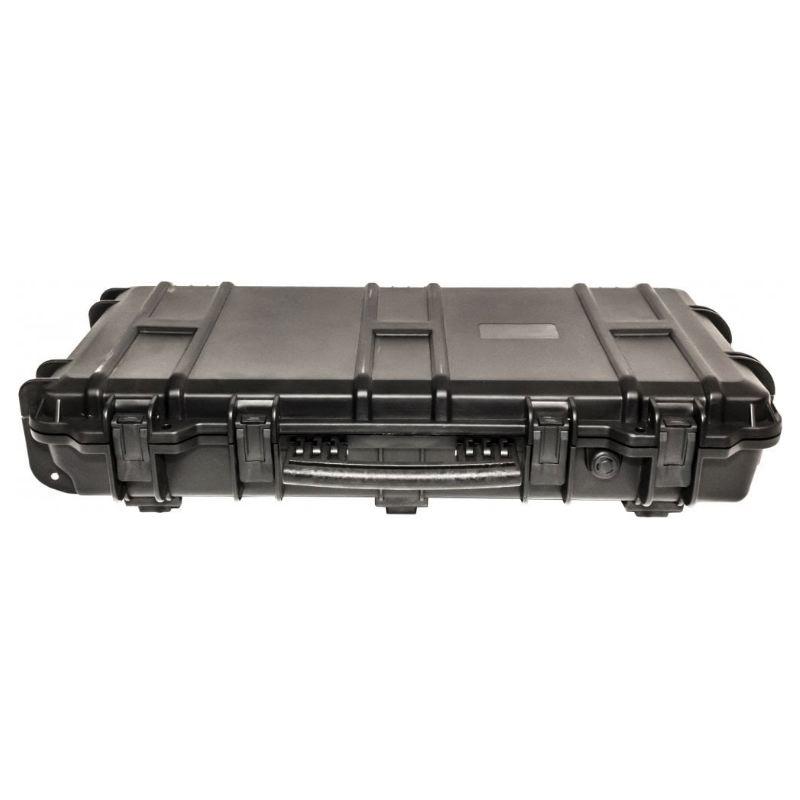 Mallette waterproof pour arme 75 x 33 x 13 cm avec roullette1