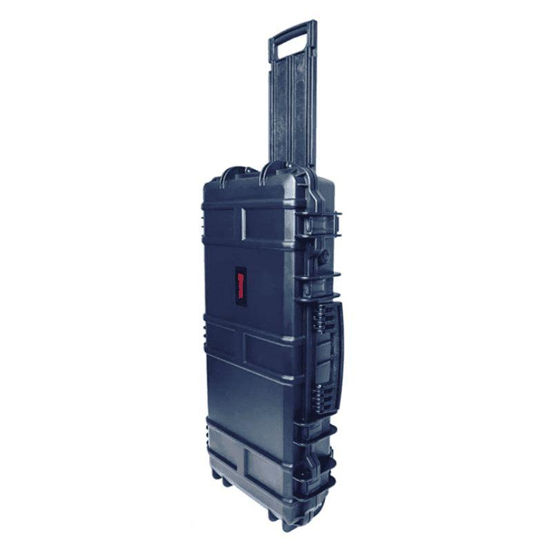 Mallette waterproof pour arme 75 x 33 x 13 cm avec roullette2