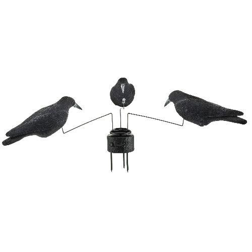 Mane ge a corbeaux pas cher a pile 3 branches et 3 corbeaux