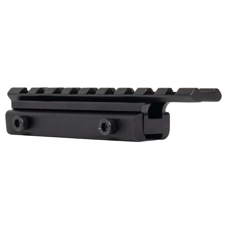 Rail adaptateur 11 mm vers 21 mm - Veoptik