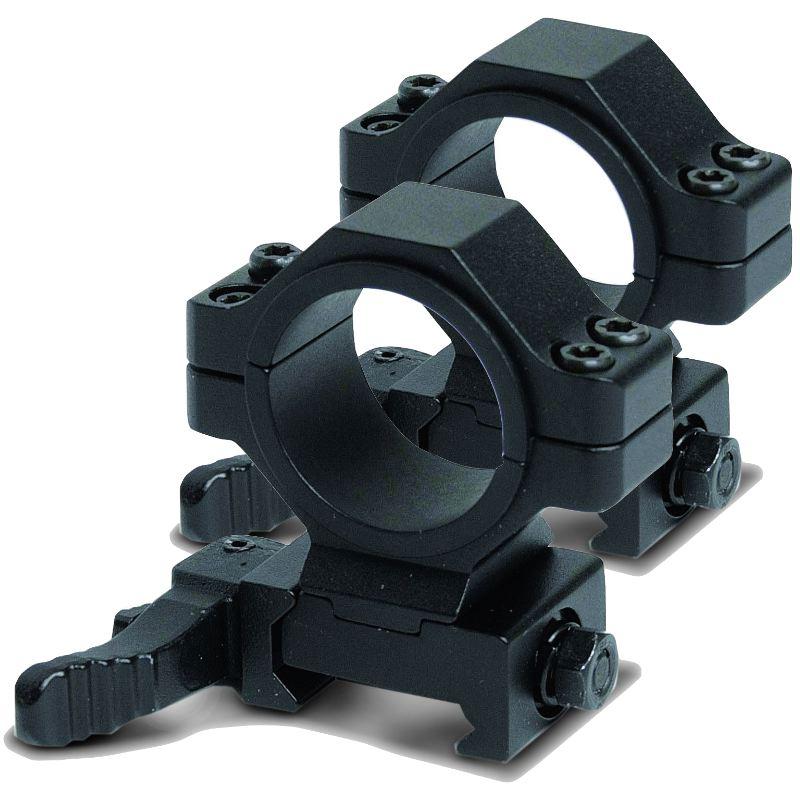 Montage rapide mediem de lunette 25 4 30mm weaver picatinny