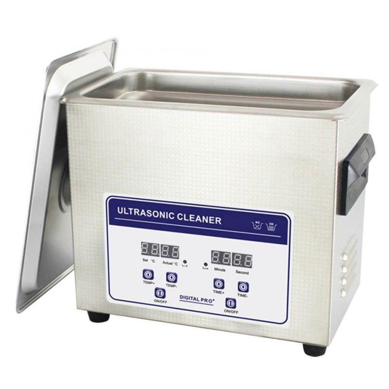 Nettoyeur ultrasons pro 3 2 l avec chauffage etui douille