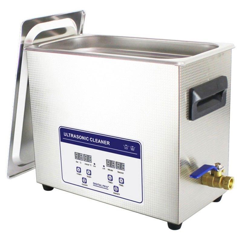 Nettoyeur ultrasons pro 6 5 l avec chauffage etui douille